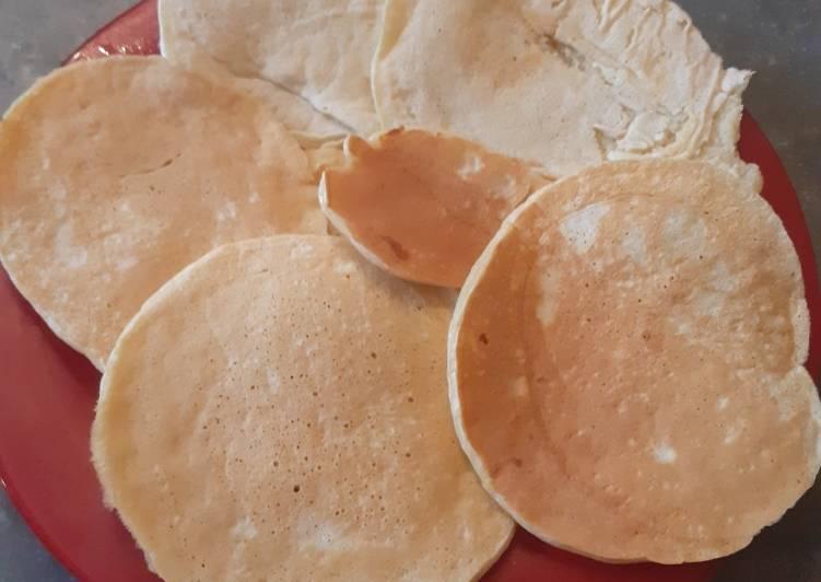 Comment Préparer Les Pancakes moelleux à la compote de pommes