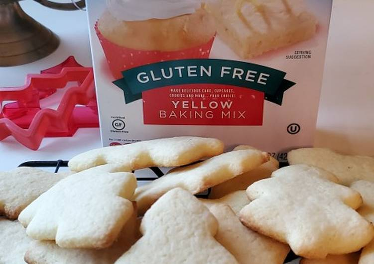 Aldi Yellow Baking mix cutout cookie recipe