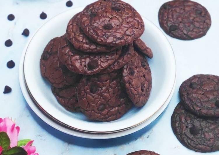 Bagaimana Menyiapkan Brownies Cookies, Enak Banget