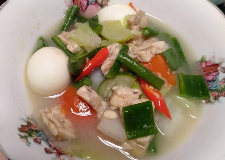 Resep 74. Sayur lodeh telur puyuh, Dijamin Endes