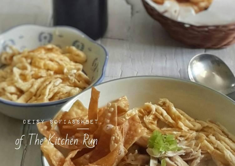 Resep Bubur Ayam Magic Com Oleh Deisy Fi Cookpad