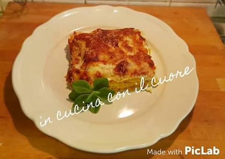 Recipe: Tasty Lasagna  con zucca ricotta e speck🎅🎁🎅🎁🎅