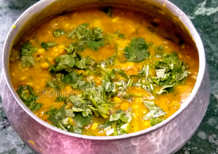 Hearty Comfort Dinner Easy Spring Dal Palak and Green Papaya Curry