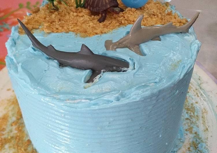 Simple Birthday Cake - cookandrecipe.com