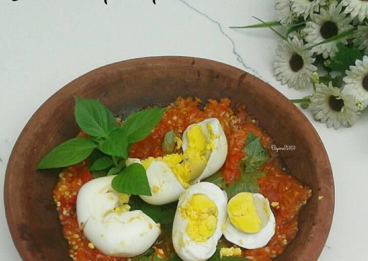 Resep Sambal Telur Rebus Yang Nikmat