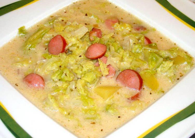 kelkáposzta leves virslivel milyen beöntés történik a férgekkel