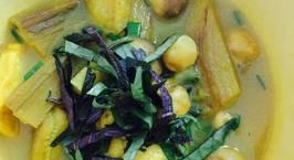 Hình ảnh món Chuối đậu chay (kiểu nấu Ốc chuối đậu)