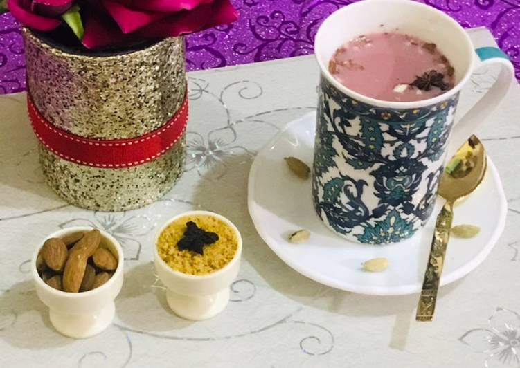 Recipe of Any-night-of-the-week Pink (Kashmiri)tea