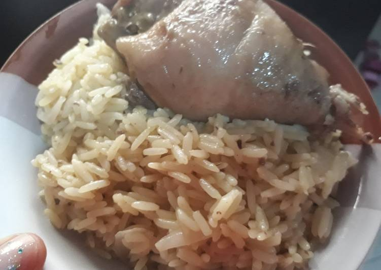 Curry rice and chicken