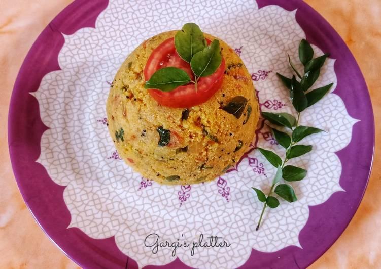 Try Using Food to Boost Your Mood Tomato Rava Upma