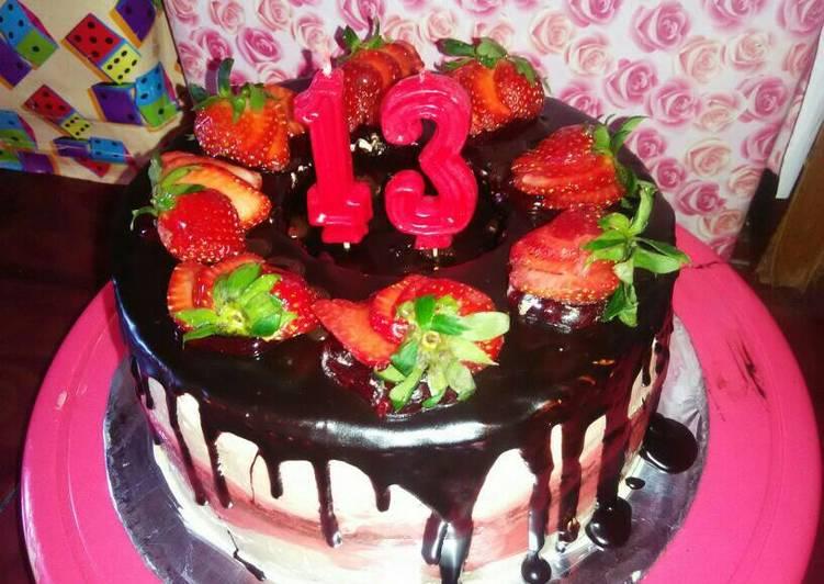 Birthday cake - cookandrecipe.com