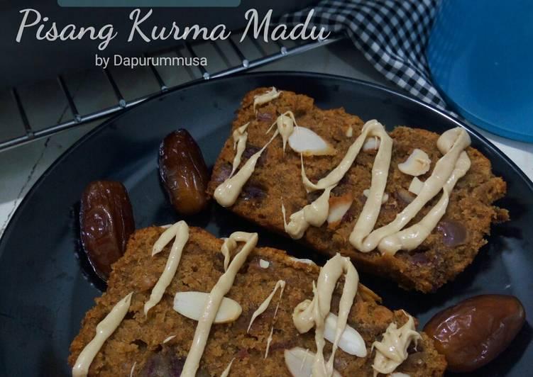 Buttercake Pisang Kurma Madu / Banana Buttercake