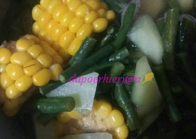 Sayur asem simpel dan seger