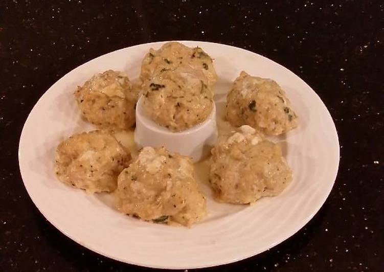 Juicy Chicken Meatballs