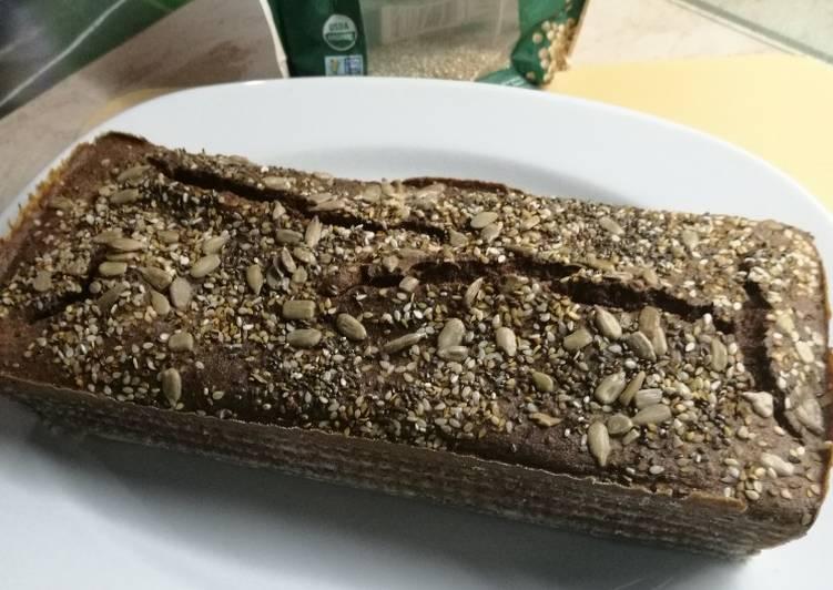receta pan con harina de quinoa