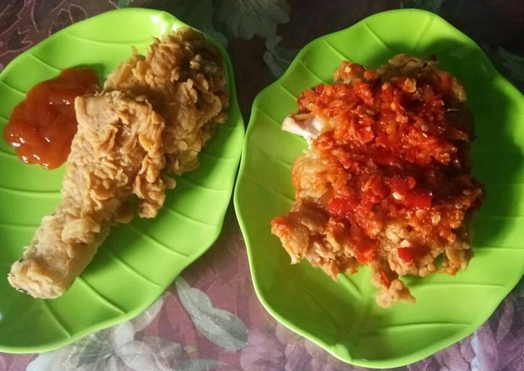 Ayam Geprek / Ayam KFC