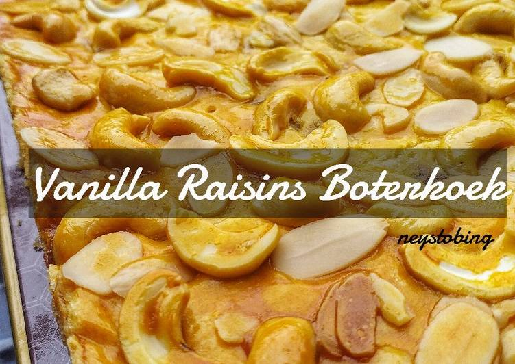 #258. Vanilla Raisins Botterkoek
