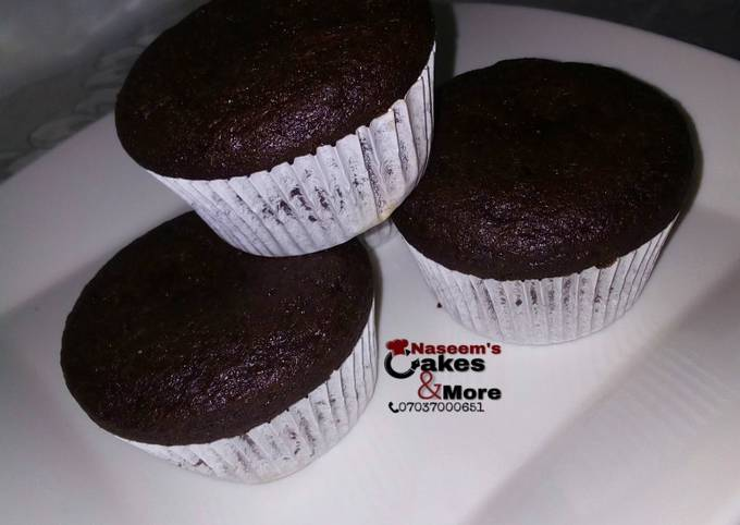 Moist Eggless Chocolate Cake recipe 1