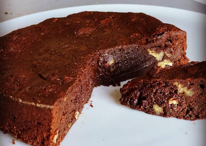 Brownie gourmand croquant
