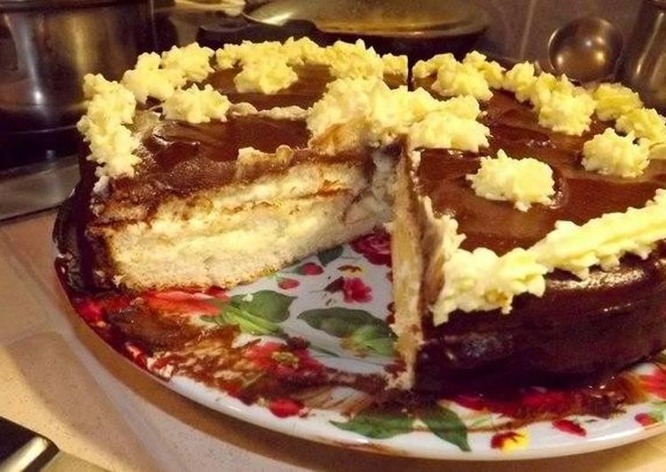 фитнесом увлекалась, торт чародейка пошаговый рецепт с фото поэтому