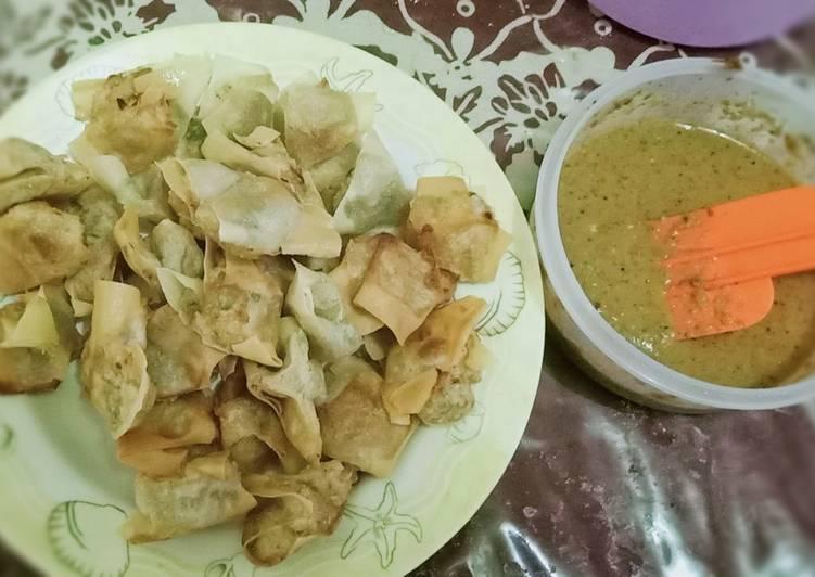 resep cara bikin Batagor Udang Rebon/Ebi