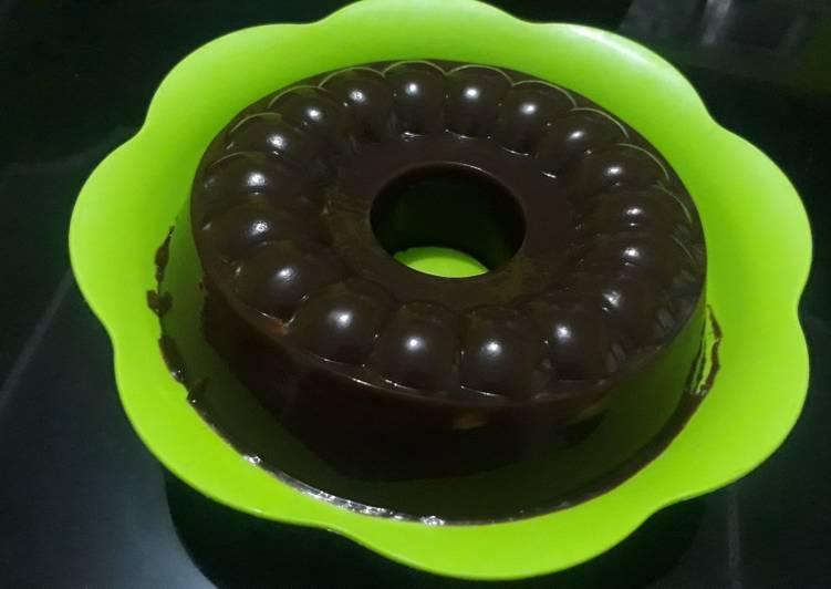 Dark choco pudding