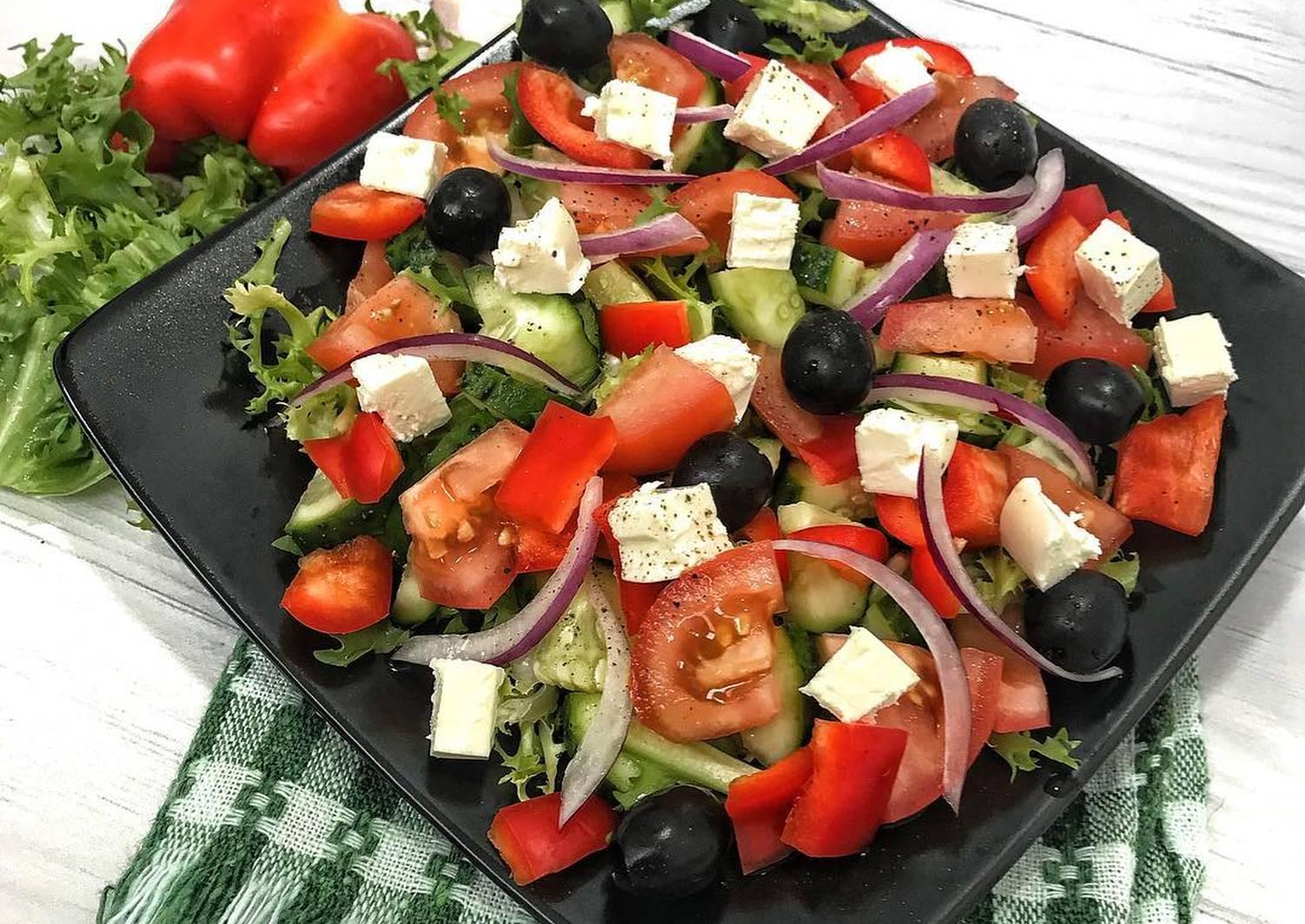 инструкцию съёмке как готовить греческий салат рецепт с фото шишка