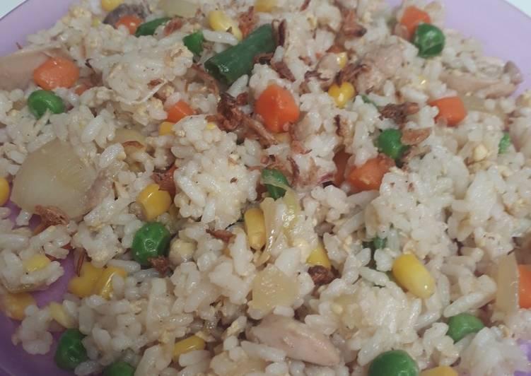 Nasi goreng hongkong menu anak dijamin lahap! Sahur praktis
