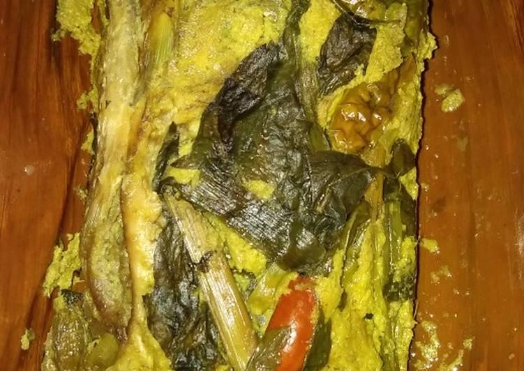 Pepes Ikan Mas Tulang Lunak Tanpa Presto