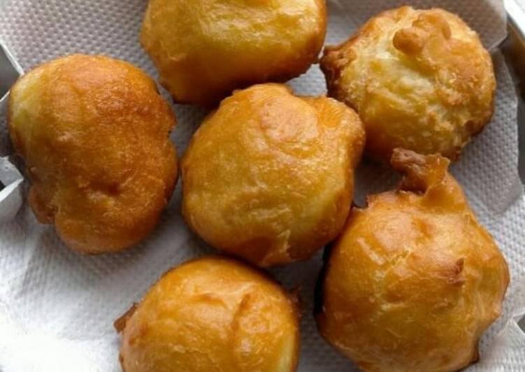 Donuts labu kuning