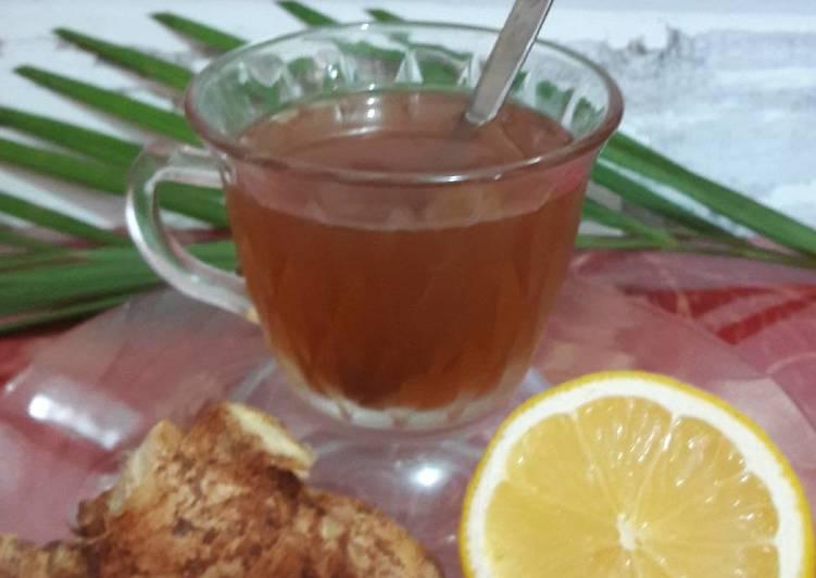 Cara Membuat Air Lemon Dan Madu Untuk Batuk Gimana Lif Co Id