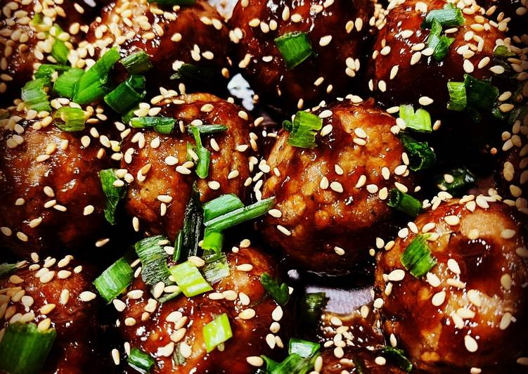 Try Using Food to Boost Your Mood Easy Asian Glazed Meatballs