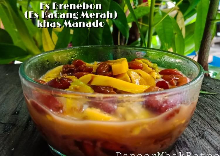 Es Brenebon (Es Kacang Merah) khas Manado