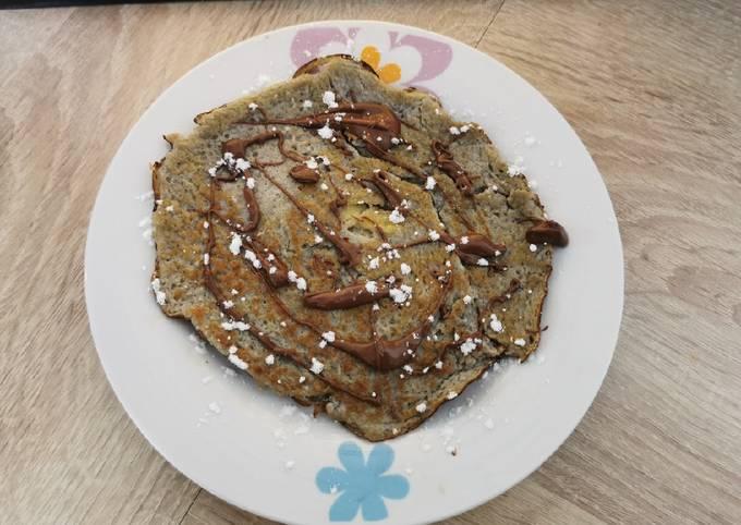 Pancake en 2 ingrédients