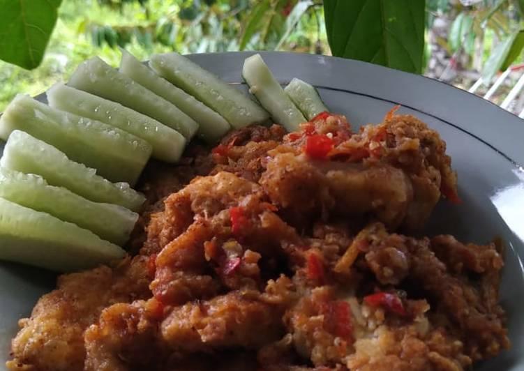 Ayam Geprek Praktis