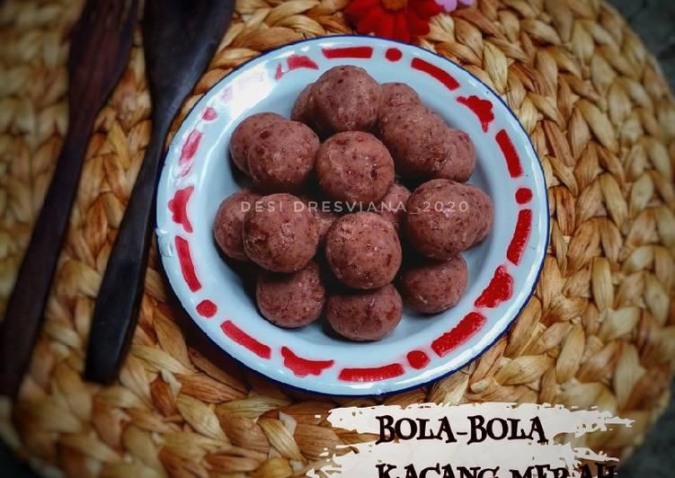 Resep Bola Bola Kacang Merah(isian bakpao/roti/onde-onde) Favorit