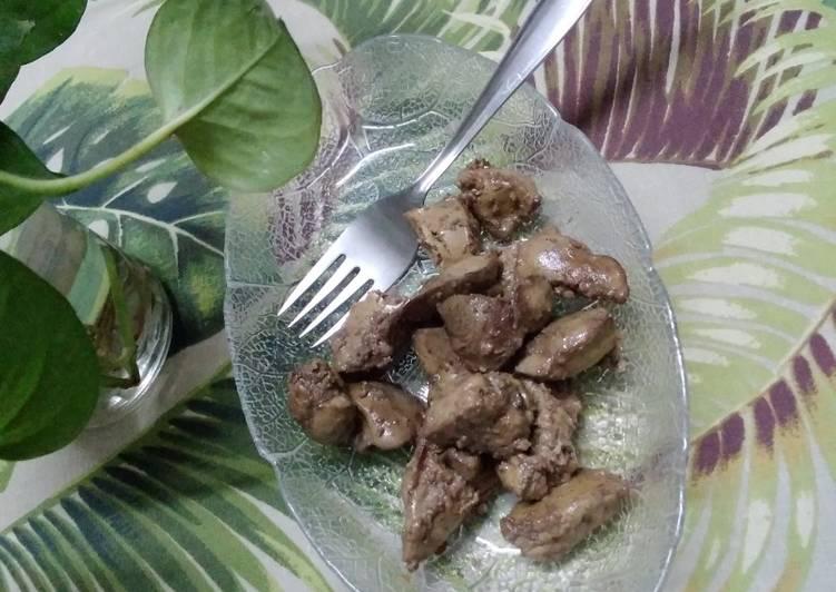 Chicken kaleji