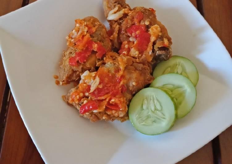 05. Ayam Geprek