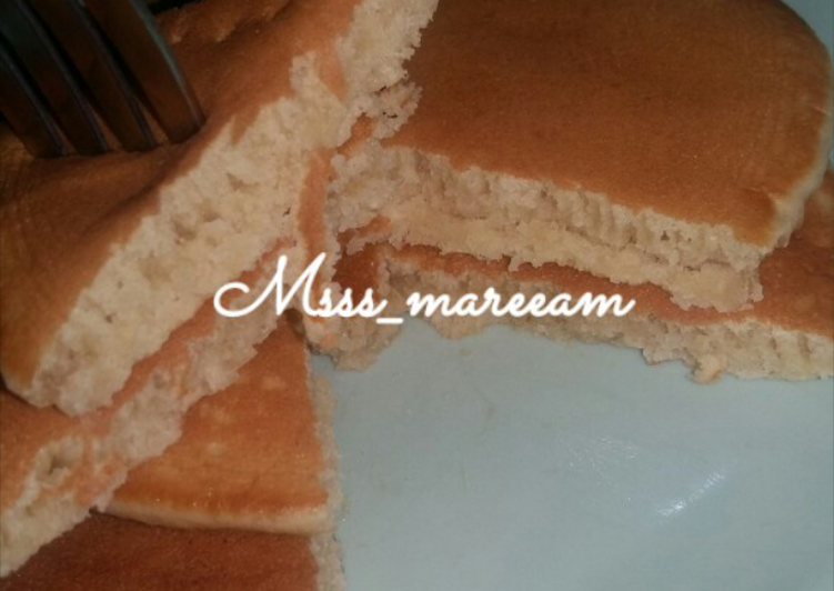 Simple Way to Make Quick Plain Pancakes