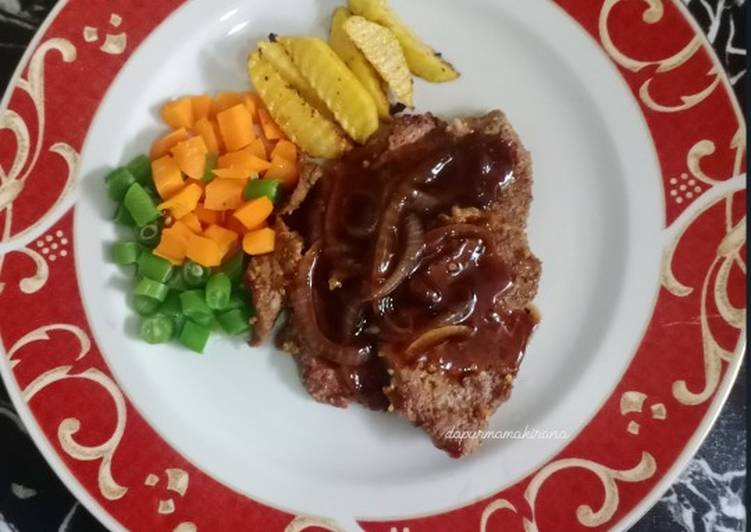 73. Beef Steak Teflon
