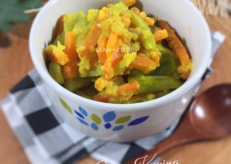 Acar Kuning Timun Wortel - acar matang ala Dapur Ade - cookandrecipe.com