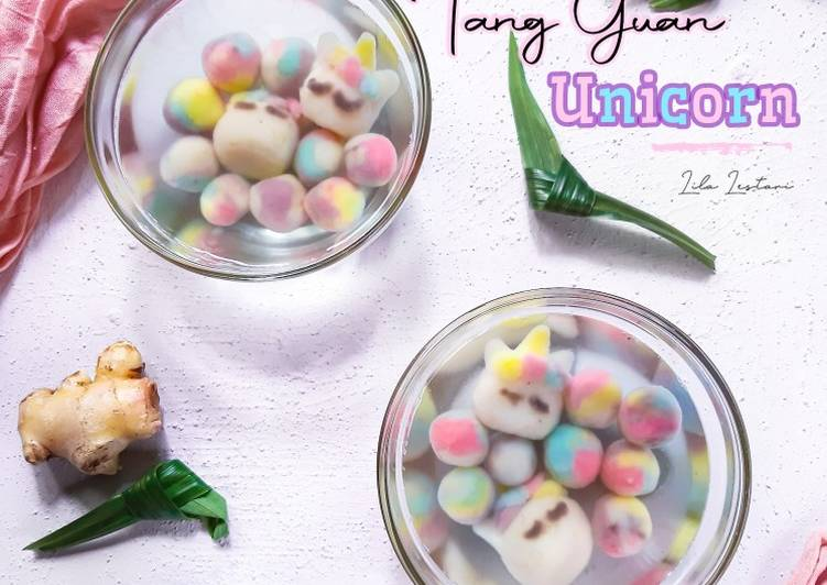 Easiest Way to Make Delicious Tang Yuan Unicorn