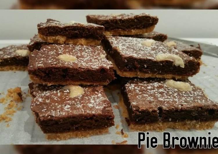 Resep Pie Brownie Terbaik
