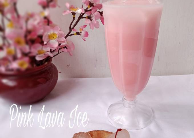 Pink Lava Ice foto resep utama