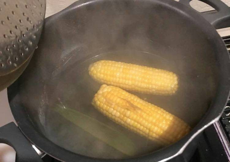 Steps to Prepare Top-Rated Boiled maize