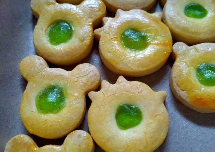 Cookies melon karakter