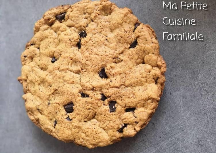 Recette Parfait Cookie géant aux pépites de chocolat