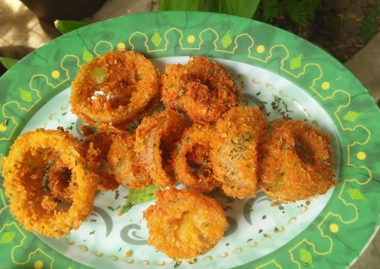 7. Onion Ring Crispy