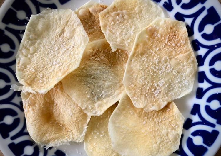 Patatas chips (al microondas)