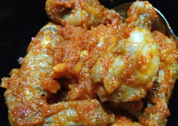 Resep Ayam Balado simple Yang Umum Pasti Enak
